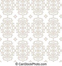Damask luxury ornament pattern