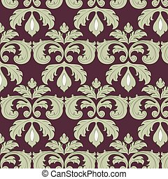 Classic style ornament pattern - Classic style floral...