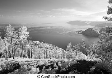 coast at Lake Baikal, Russia