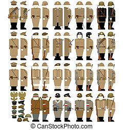 Army Uniforms in Poland