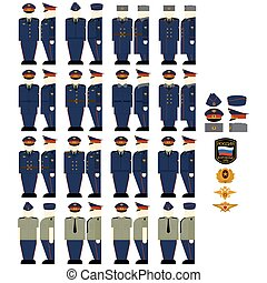 Casual uniforms of Justice - Uniforms and insignia of the...