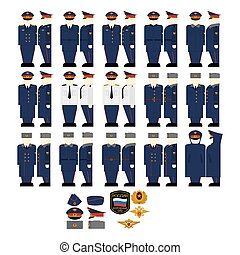 Uniform of the Ministry of Justice - Uniforms and insignia...