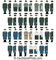 Womens uniforms Interior Ministry - Uniforms and insignia...