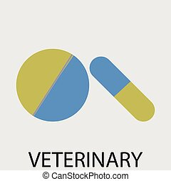 Tablets pills veterinary Veterinarian and veterinary clinic,...
