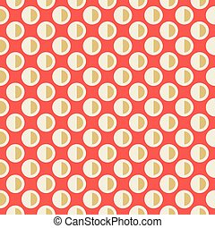 Colorful Graphic Seamless Pattern - Colorful Graphic On Red...