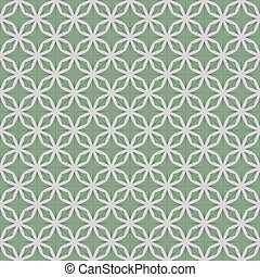 Green Graphic Seamless Pattern Vector Illustration