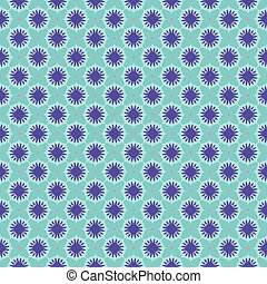 Seamless Pattern Vintage Purple Green Turquoise Background...