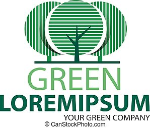 Logo green tree 2