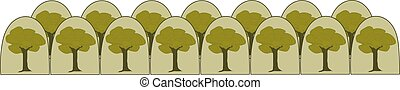 Forest background decorative image