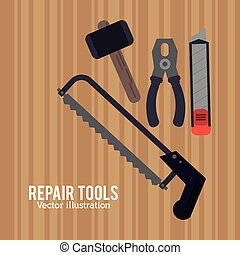 repair tools construction design