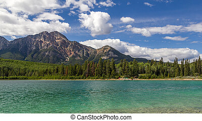 Pyramid Mountain Patricia Lake Jasper National Park Alberta, Canada
