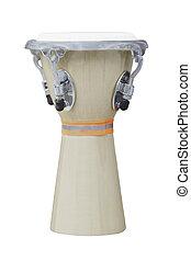 africano, conga, tambor