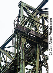 Details of old industry buildings at the Landschaftspark...