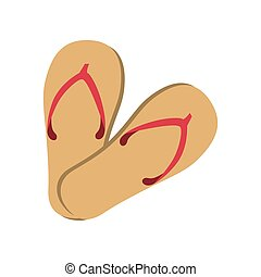 flip flop summer - flip flop shoes summer vacation foot sand...