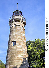 Erie Land Light - The Erie Land Light, also known as the Old...