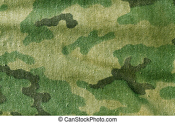 Camouflage cloth texture. Background and texture for design.