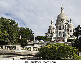 The Basilica Sacre-Coeur. Paris. France.