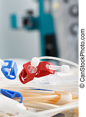 Tubes of hemodialysis machine - Bloodline tubes of...