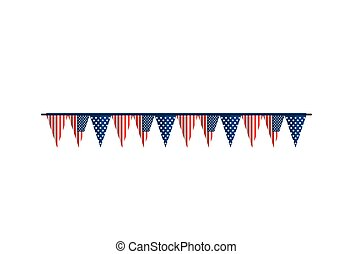 bunting flag america usa united states of america...