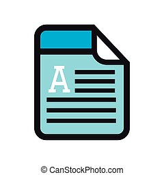 doc format page - doc format document letter label blue text...