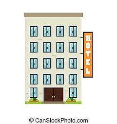 hotel building property