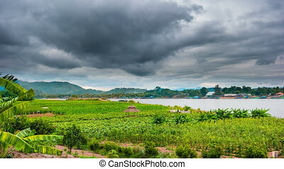 Chiangsaen, Chiangrai in Thailand - Timelapse of The Mae...