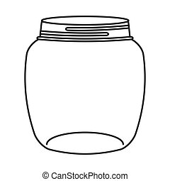 cute mason jar isolated icon vector illustration design