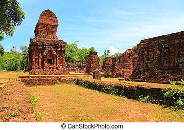 My Son Sanctuary is a cluster of abandoned and partially...