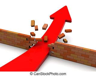 arrow breaking barrier