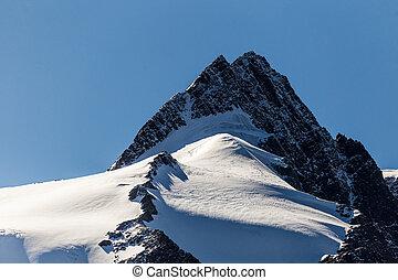 alpinismo, montagna, rampicante, cresta, nevoso, cima, montanari, rampicante, roccia, picco, gruppo