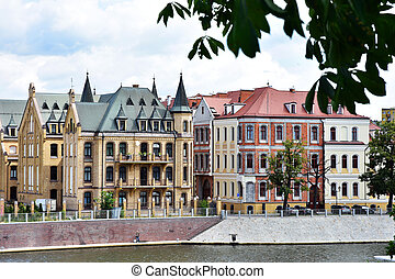 beautiful historic buildings in Wroclaw - beautiful historic...
