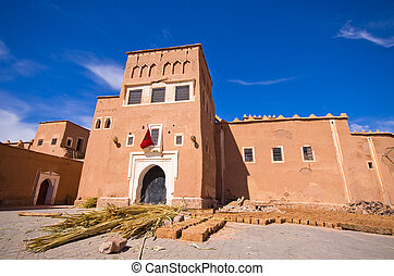 Kasbah Taourirt in Ouarzazate, Morocco - Famous kasbah...