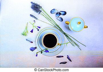 memorias, y, café