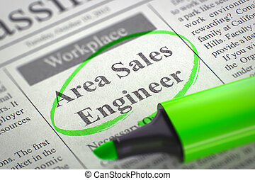 Area Sales Engineer Join Our Team. - Area Sales Engineer -...