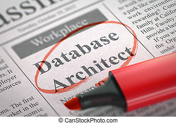 Database Architect Join Our Team. - Database Architect....