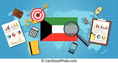 kuwait middle east economy economic condition country with...