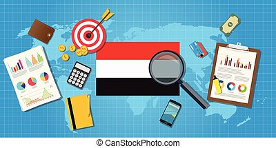yemen yaman economy economic condition country with graph...
