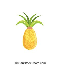 Tellow Fresh Pineapple
