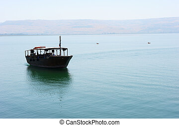 The Sea of Galilee - Along the lake by boat and kayak