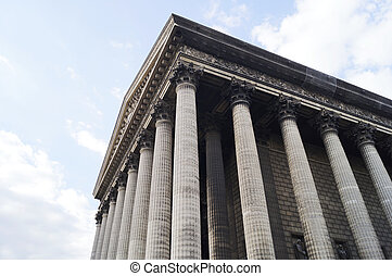 La Madeleine in Paris - La Madeleine church in Paris, France