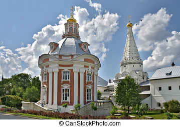 The Cathedral of Sergius Lavra.