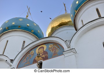 The Golden dome over the Cathedral