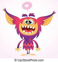 Goblin monster Halloween
