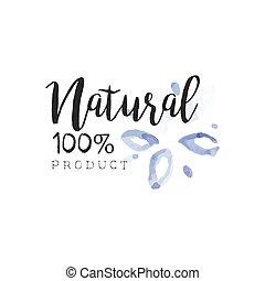Percent Natural Beauty Promo Sign - 100 Percent Natural...