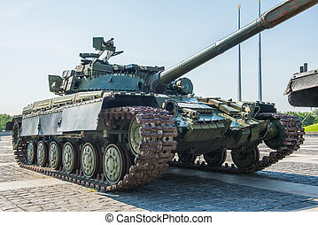 Soviet tank T-64 - The main tank T-64 of Ukrainian army...