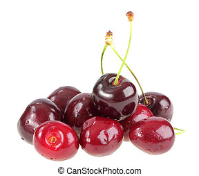 montón, dark-red, sweet-cherry