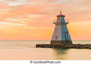 Lake Huron Lighthouse - Lighthouse situated in Southampton...
