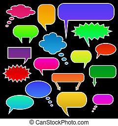 Color Chat Bubbles
