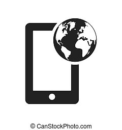 global communication planet design