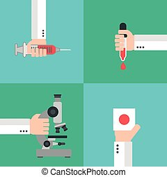 Medical blood analysis design - Medical blood analysis...